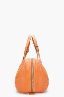 Common Projects Tan Leather Duffle Bag for men