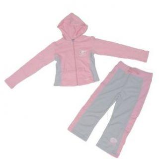 NFL Football Green Bay Packers Girls 7 16 Pink Zip Hoodie