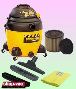 Shop Vac 9609710 Wet/Dry Vacuum Cleaner   Deluxe Kit