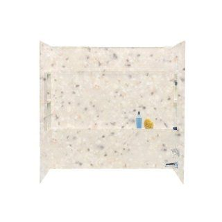 Swanstone BA 3060 040 Veritek Bath Alcove Wall Kit, Bermuda Sand