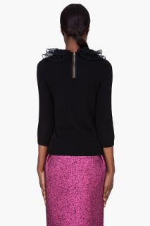 Marc By Marc Jacobs Black Cashmere Sonia Sweater for women