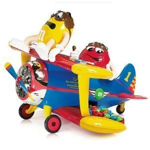 M&M Toy Airplane Barnstorming Plane Rides Chocolate Candy