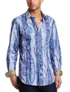Robert Graham Mens J.Mazza Long Sleeve Shirt Clothing