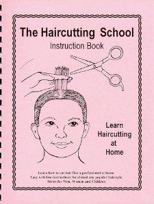 The Haircutting School   Instruction Book Lynn Symonds 9780967234700