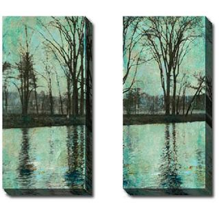 Sara Abbott The Arbor I and II 2 piece Canvas Art Set