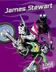 James Stewart Motocross Great (Edge Books) Dougherty, Terri
