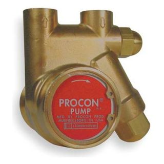 Procon 141A025F11CA 250 Rotary Vane Pump, 3/8 In, 35 GPH