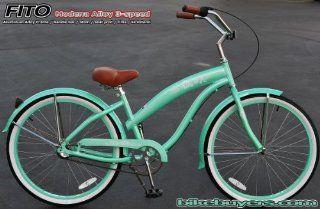Aluminum Frame, Fito Modena Alloy Shimano 3 speed womens