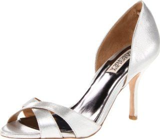 Badgley Mischka Womens Nikki Pump Shoes