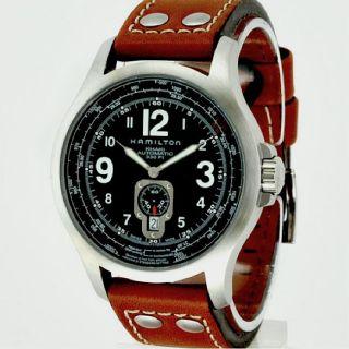 Hamilton Mens Khaki Aviation QNE Automatic Watch