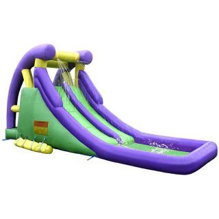 KidWise Double Slide Inflatable Water Slide