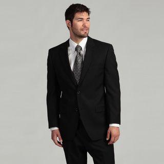 MICHAEL Michael Kors Mens 2 button Black Suit