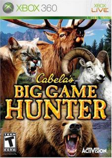 Xbox 360   Cabelas Big Game Hunter (Pre Played)