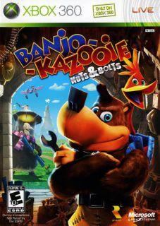 Xbox 360   Banjo Kazooie Nuts & Bolts (Platinum)