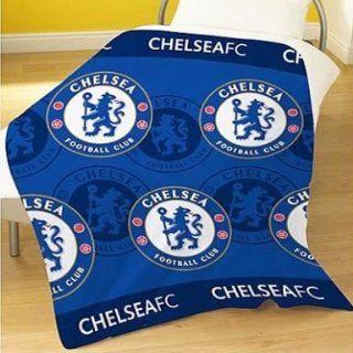 Chelsea Fc Fleece Blanket: Home & Kitchen