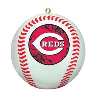 MLB Cincinnati Reds Mini Replica Baseball Ornament Sports