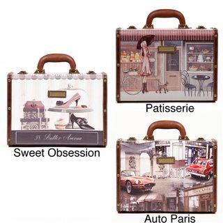 Nicole Lee Camilla Womens Vinatage Style 14 inch Briefcase