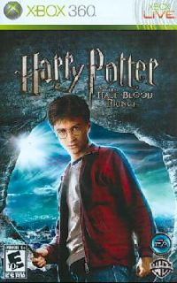 Xbox 360   Harry Potter and the Half Blood Prince