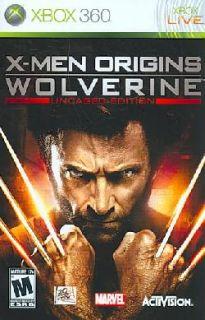Xbox 360   X Men Origins Wolverine (Uncaged Edition)