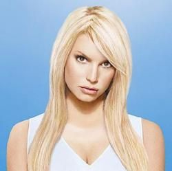 Jessica Simpson and Ken Paves Bangs Fringe Human Hair Extension