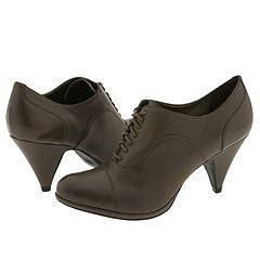 Steve Madden Derelict Grey Leather Oxfords