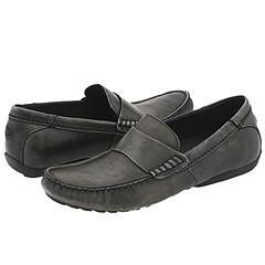 Steve Madden Riyo Grey Leather Loafers