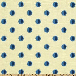 54 Wide Waverly Williamsburg Draper Dots Blue Bell