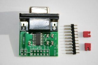 RS232 to TTL converter board DCE with Female DB9 3.3V to