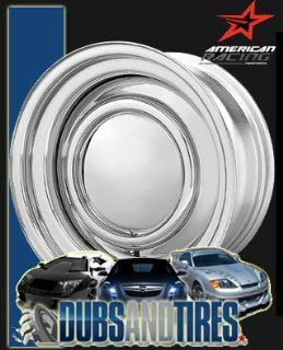 15 Inch 15x7 American Racing wheels wheels SMOOTHIE Chrome STEEL