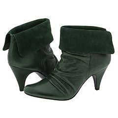 Steve Madden Applegate Green Leather Boots