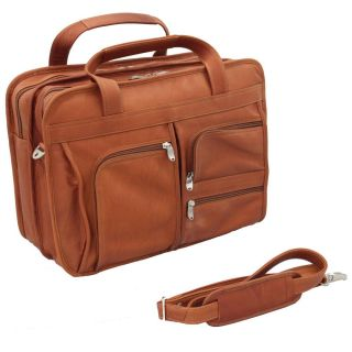 Vaquetta Handcrafted Lush 14 inch Top grain Leather Briefcase