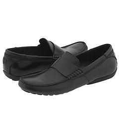 Steve Madden Riyo Black Leather Loafers