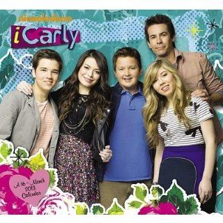(11x12) iCarly   16 Month 2013 Wall Calendar Home