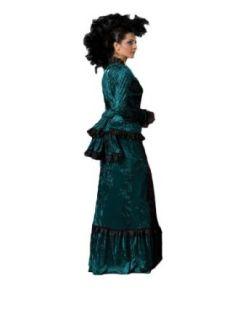 Womens Green Victorian Sadie Dress Theater Costume L