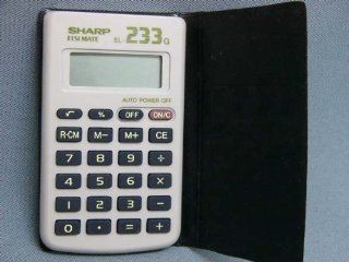 Sharp Elsi Mate El 233g Electronic Calculator Electronics