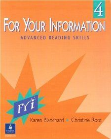 For Your Information, Book 4 Karen Blanchard, Christine Root