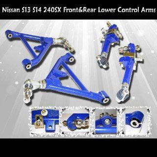 Nissan 240SX 89 98 S13 S14 Front&Rear Adjustable Lower Control Arm