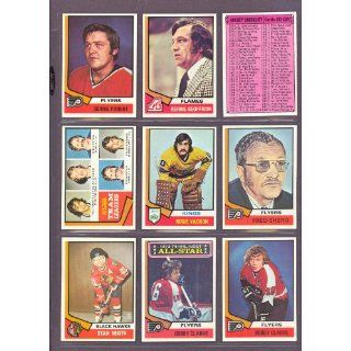 1974 Topps #233 Islanders Team Leaders (NM/MT