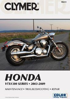 2003 2009 Honda VX1300 Clymer Repair Manual    Auomoive