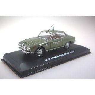 Alfa Romeo 2600 Sprint Police Stradale (1964)   143   Alfa Romeo 2600