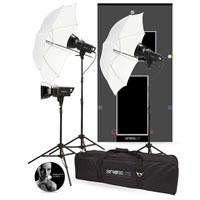 Photo Basics 241 Strobelite Three Light Kit Camera