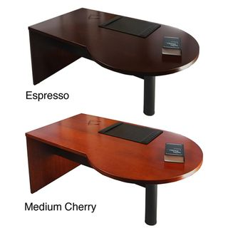 Mayline Mira Series 72 inch Left P shaped Desk