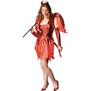 Plus Size Devil on Fire Costume   Plus Size (14 16