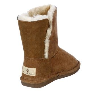Bearpaw Girls Abigail Youth Hickory Toggle Boots FINAL SALE