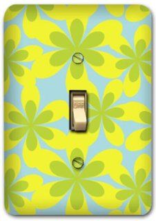 Flower Metal Light Switch Plate Cover Home Decor 242
