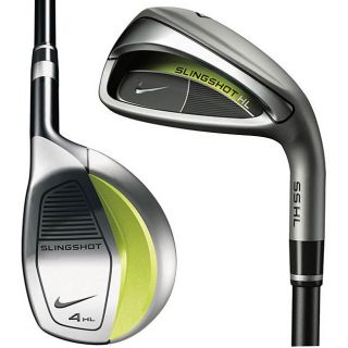 Nike Mens SlingShot HL 8 piece Steel Hybrid and Iron Combo Set