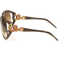 Roberto Cavalli Teseo RC 379/S Womens Brown Sunglasses