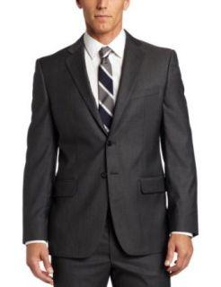 Joseph Abboud Mens 2 Button Side Vent Suit With Flat