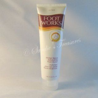 Avon Foot Works Winter Spice Exfoliating Foot Scrub Smooth
