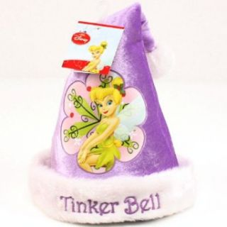 Kids 3 9 Disney Tinker Bell Velour Santa Christmas Hat